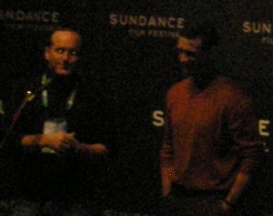 Clark Gregg and Chuck Palahniuk